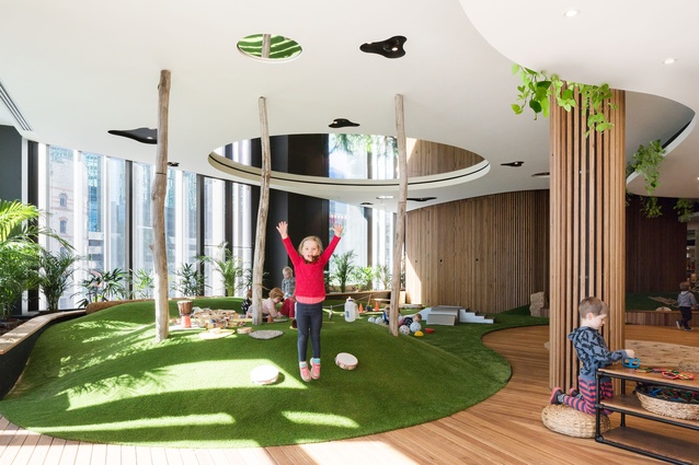 Guardian Early Learning Centre Barangaroo by Collins and Turner.