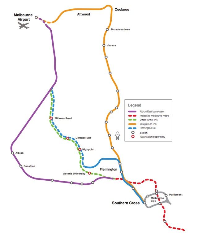 Federal government pledges 5b for Melbourne airport rail