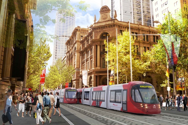 The Sydney Light Rail by Hassell.