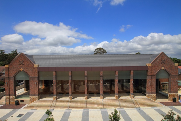 Knox Grammar Great Hall (NSW) by Jones Sonter Architects.