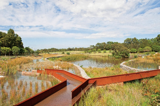 Sydney Park Water Re-Use Project by Turf Design Studio and Environmental Partnership was awarded Landscape Architecture of the Year in the 2016 American Architecture Prize.