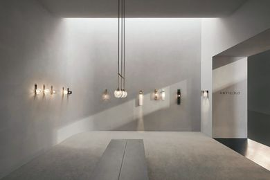Articolo Lighting Milan by Studio Goss.