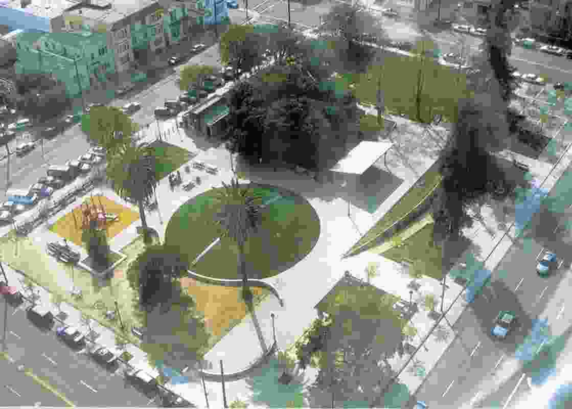 Lafayette Square Park in Oakland, California by Hood Design Studio.