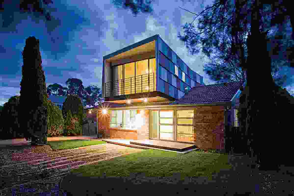 Slater White House by Philip Leeson Architects.