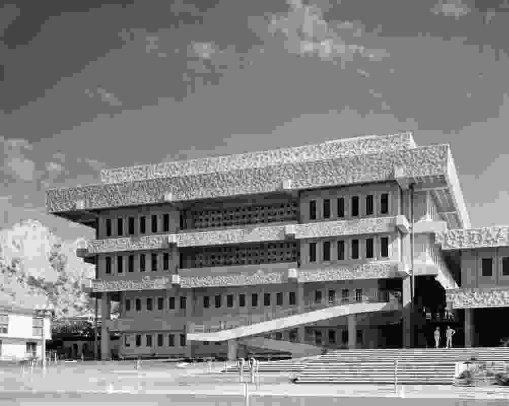 Townsville Courts of Law – Edmund Sheppard Building by Hall, Phillips and Wilson Architects.