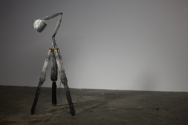Prickly lamp from the Broached Colonial collection (2011) by Lucy McCrae.
