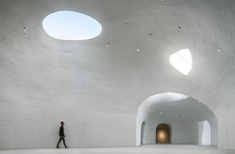 Open Architecture's 'primal' Dune Art Museum completed