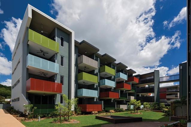 Brisbane Housing Company's Caggara House in Brisbane by Arkhefield.