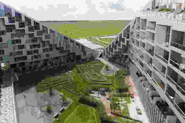 8 House by Bjarke Ingels Group, Ørestad, Copenhagen (2010).