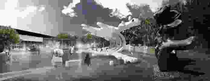 NGV Splatter Pavilion by Nervegna Reed.