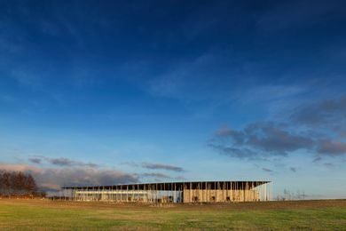 Stonehenge Exhibition and Visitor Centre by Denton Corker Marshall.