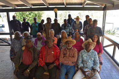 Martuwarra Fitzroy River Council founding members.