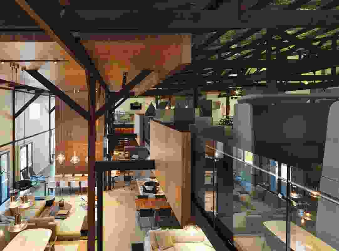 Living Edge Showroom by Woods Bagot