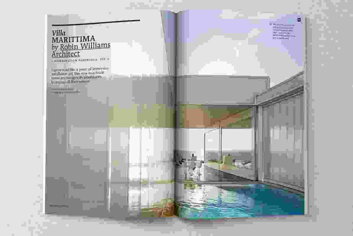 Villa Marittima by Robin William Architects.