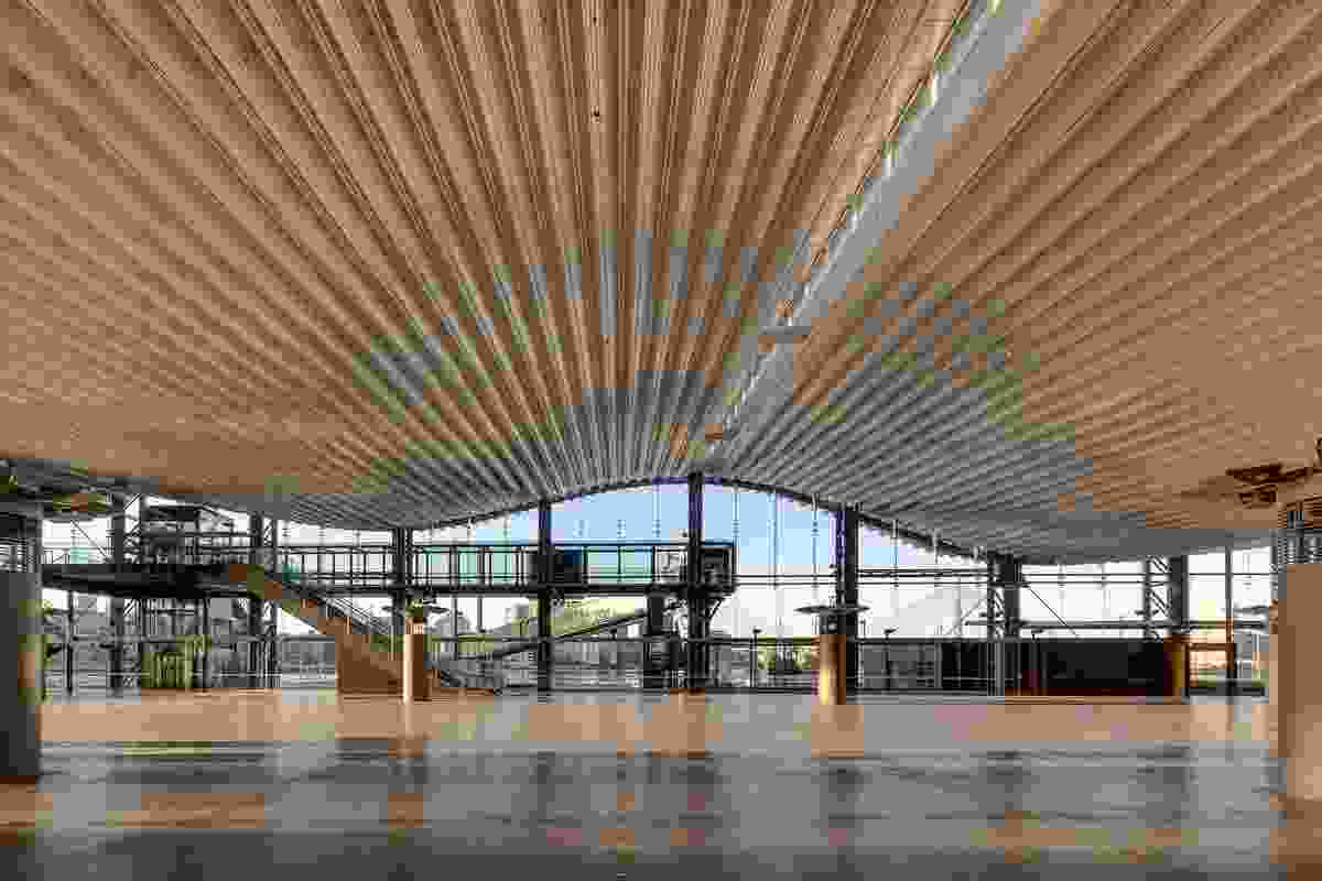 Sydney Cruise Terminal by Johnson Pilton Walker Architects.