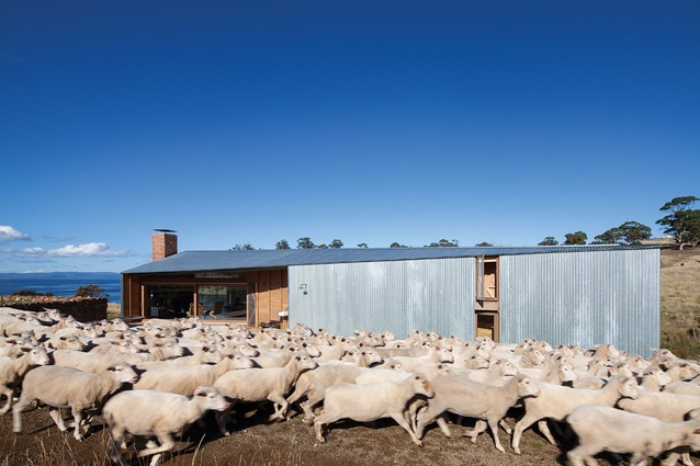 Robin Boyd Award for Residential Architecture – Shearer's Quarters by John Wardle Architects.