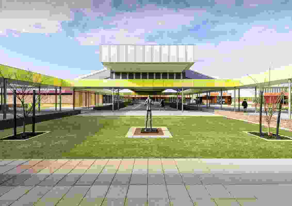 Byford Secondary College by Donaldson and Warn Architects.