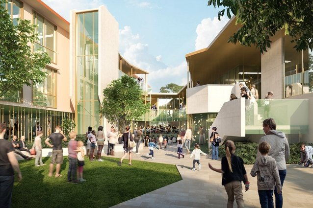 The Inner City North State Secondary College by Cox Architecture.