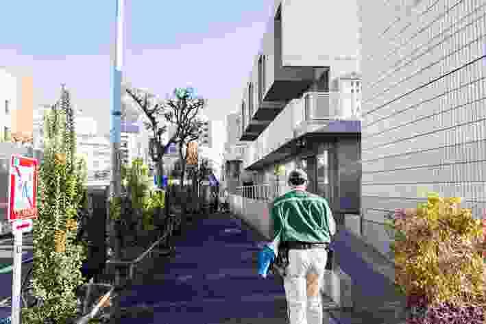Hillside Terrace project by Maki + Associates, Daikanyama.