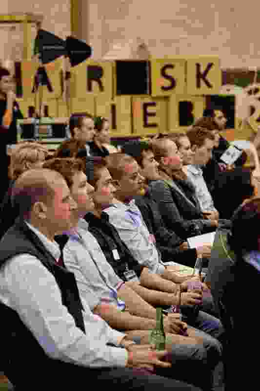 Audience members at the sixth AA Roundtable.