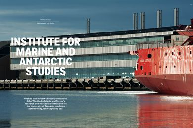 Institute for Marine and Antarctic Studies by John Wardle Architects and Terroir, architects in association.