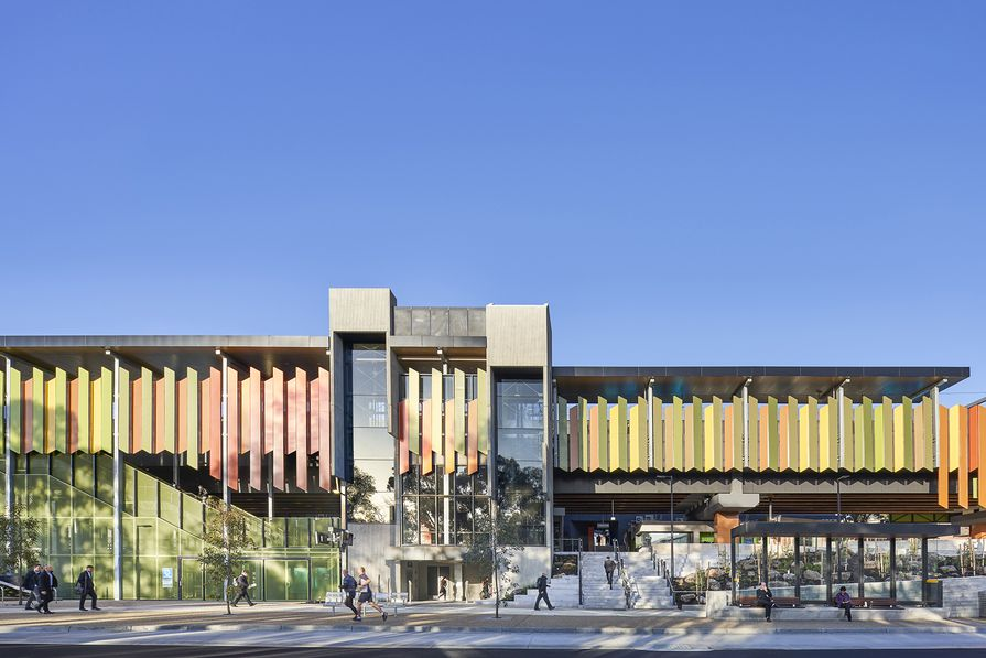 Rosanna Station by MGS Architects and Jacobs