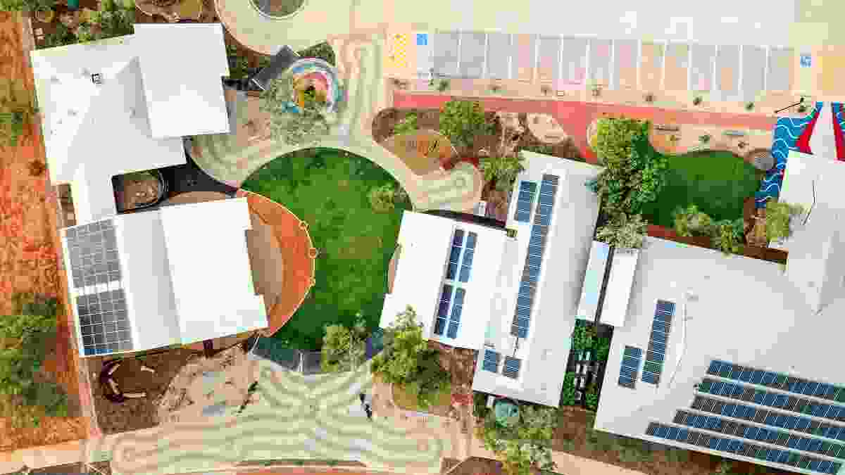 Liyan-ngan Nyirrwa (Cultural Wellbeing Centre) by Nyamba Buru Yawuru and MudMap Studio won the Award of Excellence in the Health and Education Landscape category, a Regional Award and the WA Medal.