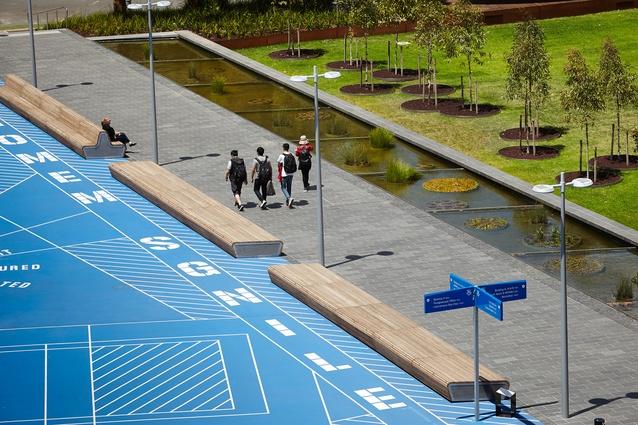 Monash University Caulfield Campus Green by TCL.