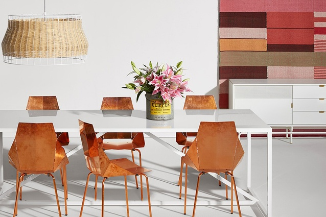 Nice Copper Real Good Dining Chair From Blu Dot.