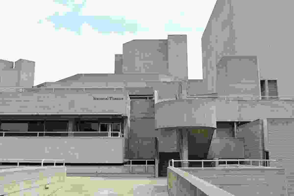 The National Theatre by Denys Lasdun and Partners, 1967–76