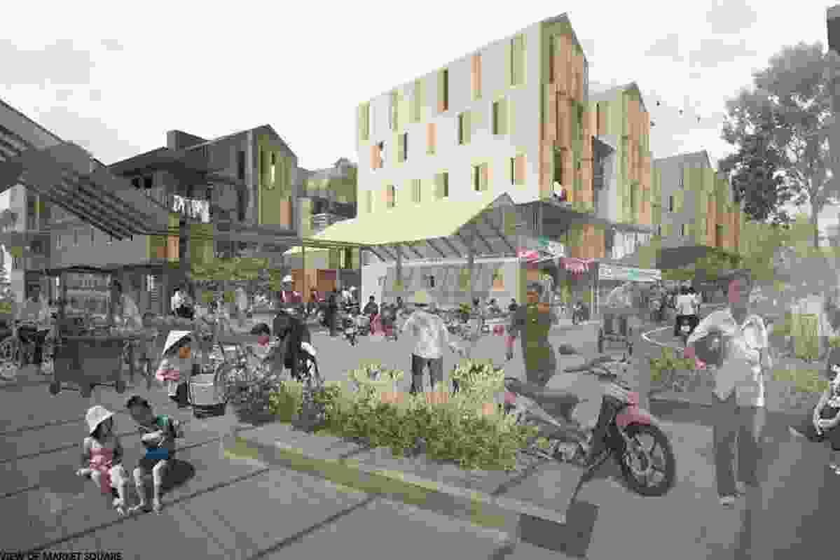 Winner – Sai Gon Informal by Ton Vu, Master of Architecture, RMIT.