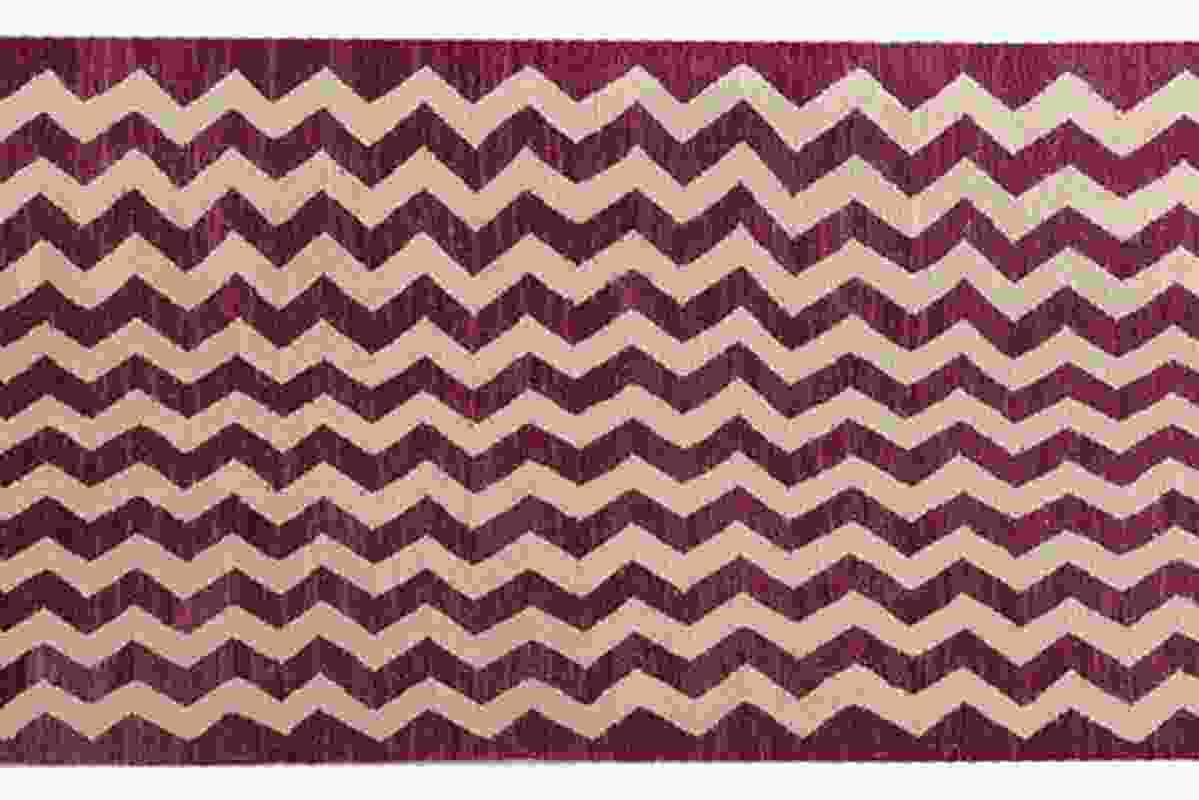 Old Yarn rug.