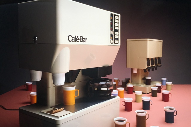 Cafe Bar, designed in 1974 by Nielsen Design Associates.