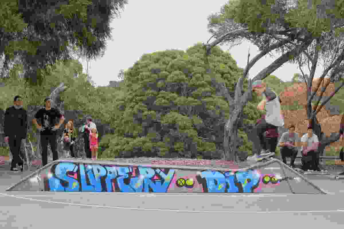 Rezza – Leamington Street Recycled Skate Park Upgrade by City of Darebin.