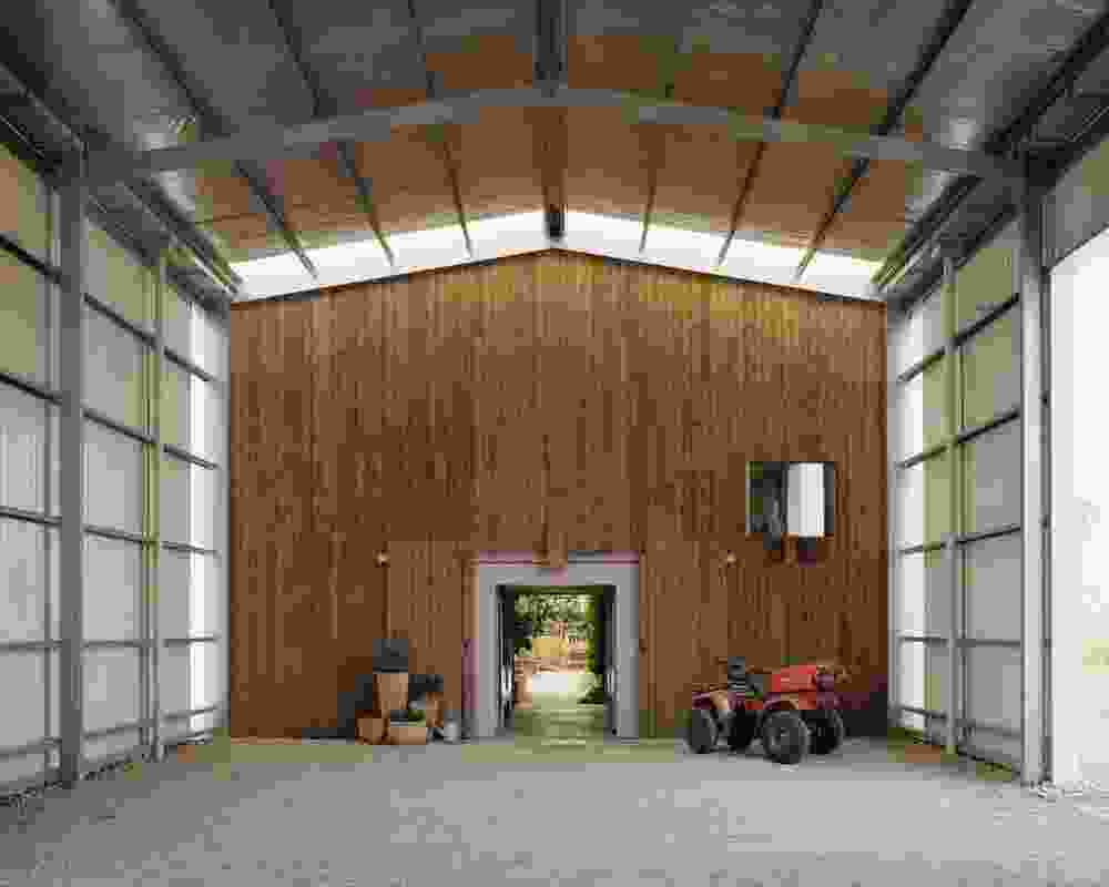 By consolidating all functions under one roof, the project shirks the more typical approach of scattering farm buildings across a site according to function.
