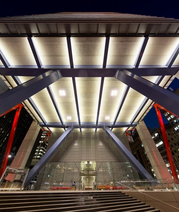 8 Chifley Square by Lippmann Partnership / Rogers Stirk Harbour & Partners.