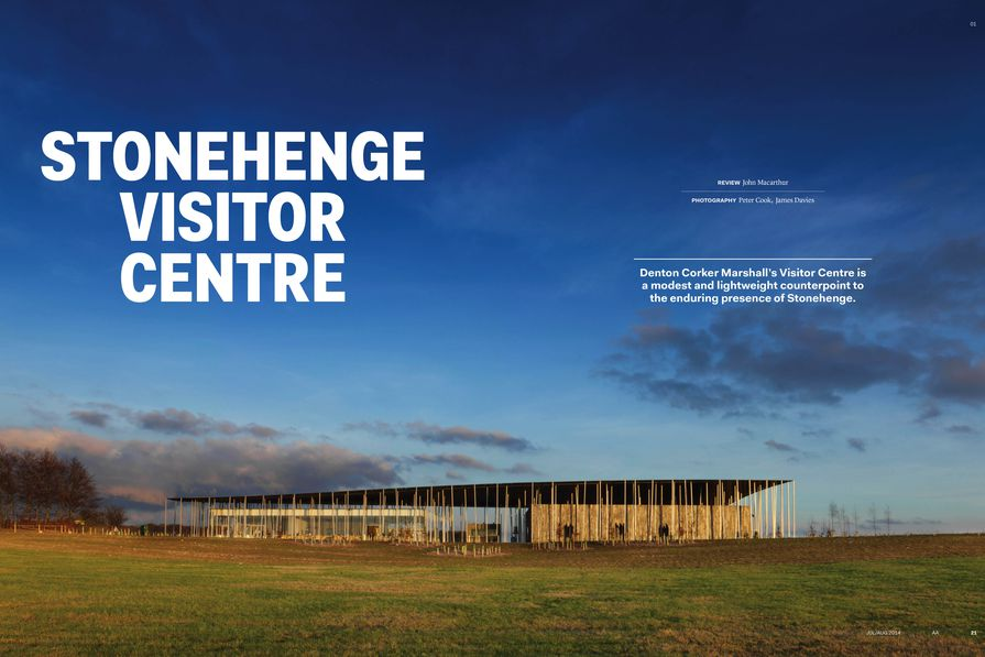 Stonehenge Visitor Centre by Denton Corker Marshall.