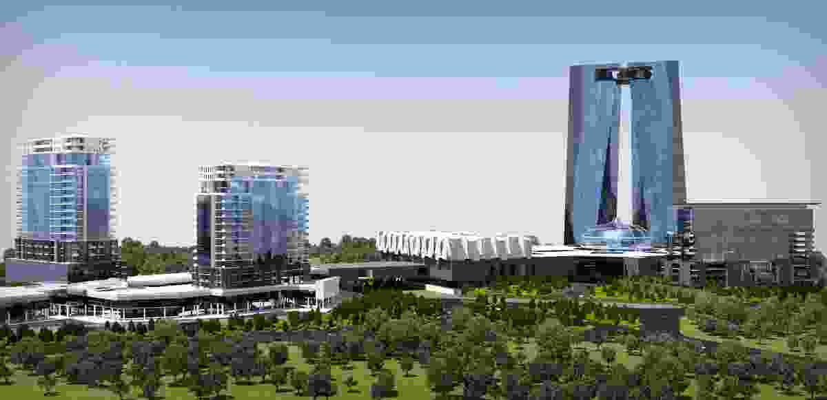 A design for a commercial development Minsk, Belarus.