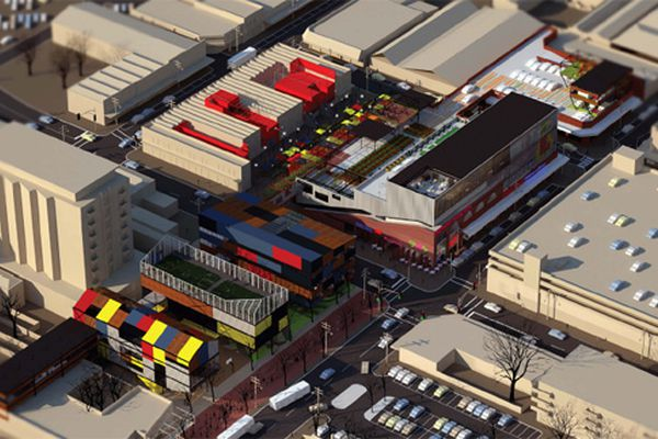 2010 AA Prize for Unbuilt Work winner: Helen Duong for Footscray – Fresh and Cheap.
