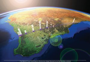 Green Infrastructure: Planning a National Green Network for Australia by Simon Kilbane.
