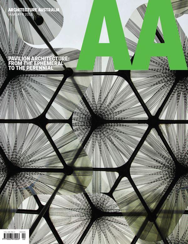 Architecture Australia, March 2016