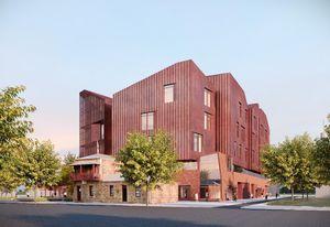 Bendigo Law Courts by John Wardle Architects.