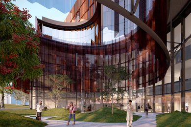 Victorian Heart Hospital by Conrad Gargett and John Wardle Architects in joint venture.