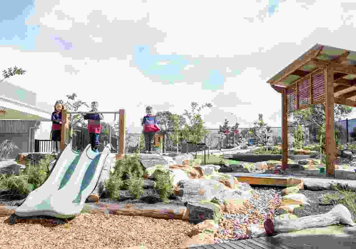 King's Baptist Grammar School ELC Landscape by JPE Design Studio won a Landscape Architecture Award in the Health and Education Landscape category.