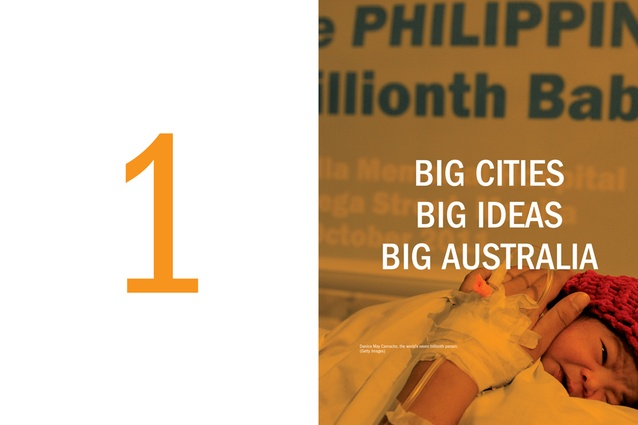 Spread from <em>Made in Australia: The future of Australian cities</em>.