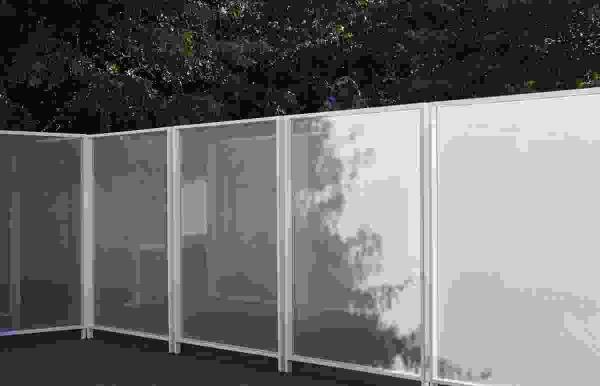 Garden Wall by Retallack Thompson and Other Architects.