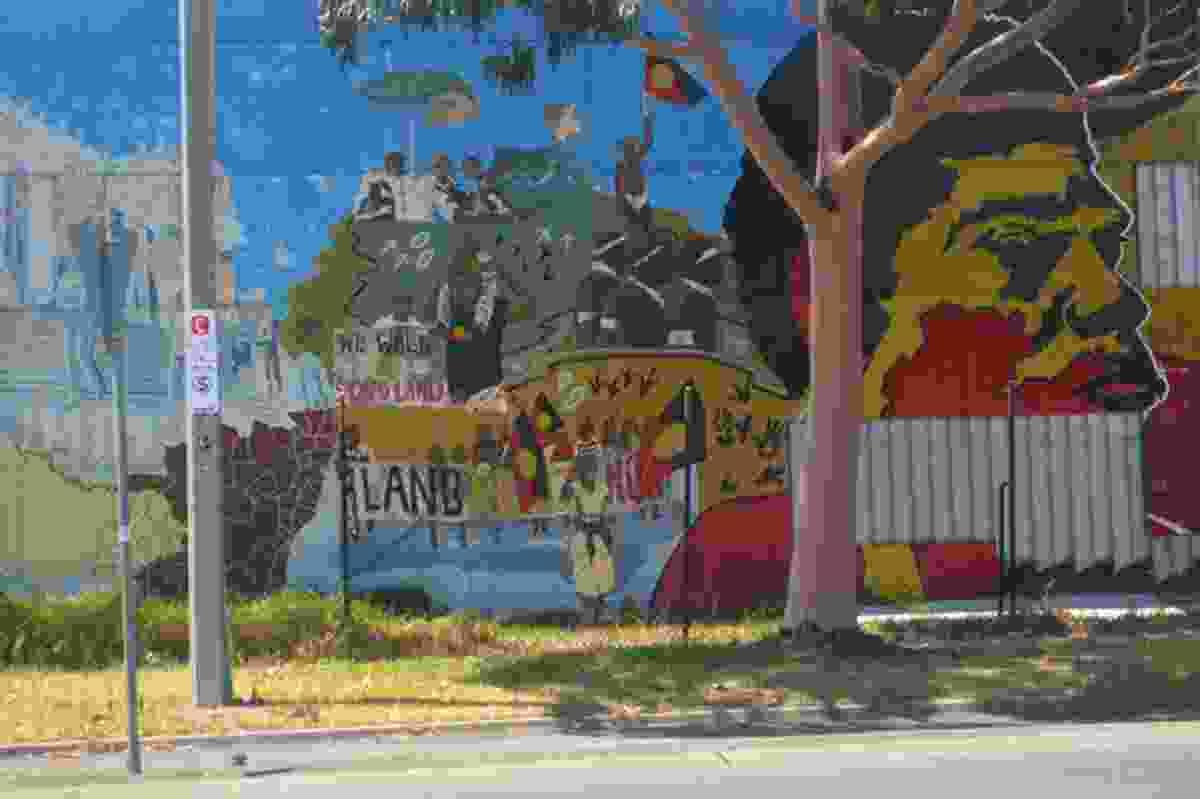 Northcote Koori Mural, St Georges Road, Thornbury.