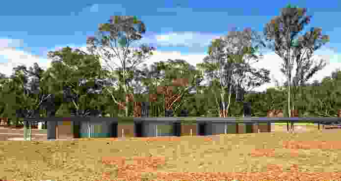 Jock Comini Reserve Amenities by Kerstin Thompson Architects.