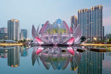 The Lotus Building, Changzhou, China, by Studio505.