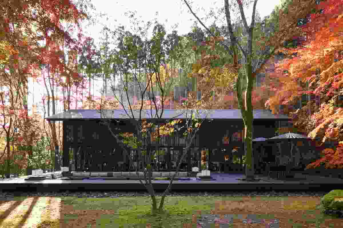 Award Commercial Architecture: Aman Kyoto (Japan) by Kerry Hill Architects.